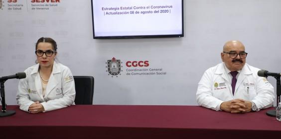 COMUNICADO | Estrategia Estatal contra el coronavirus 08/08/2020