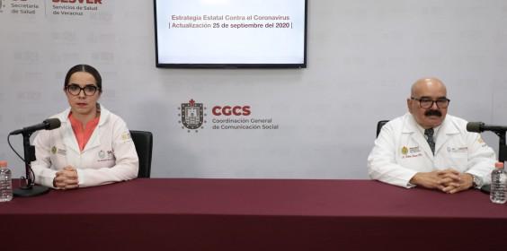 COMUNICADO   Estrategia Estatal contra el coronavirus 25/09/2020