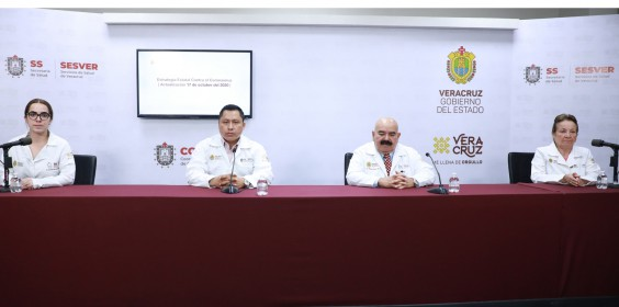 COMUNICADO | Estrategia Estatal contra el coronavirus 17/10/2020