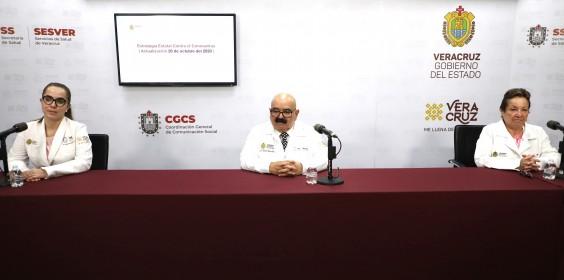 COMUNICADO | Estrategia Estatal contra el coronavirus 26/10/2020