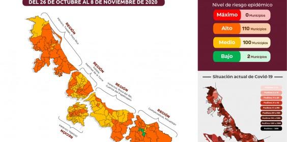 COMUNICADO | Estrategia Estatal contra el coronavirus 23/10/2020