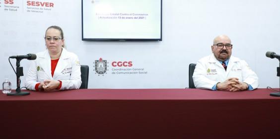 COMUNICADO | Estrategia Estatal contra el coronavirus 13/01/2021