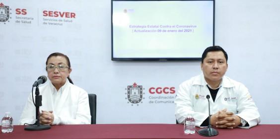 COMUNICADO | Estrategia Estatal contra el coronavirus 09/01/2021