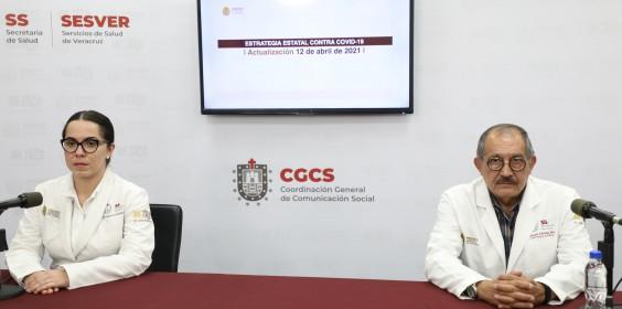 COMUNICADO | Estrategia Estatal contra el coronavirus 12/04/2021