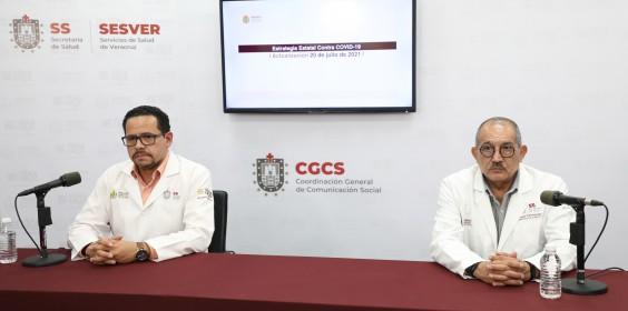 COMUNICADO | Estrategia Estatal contra el coronavirus 20/07/2021
