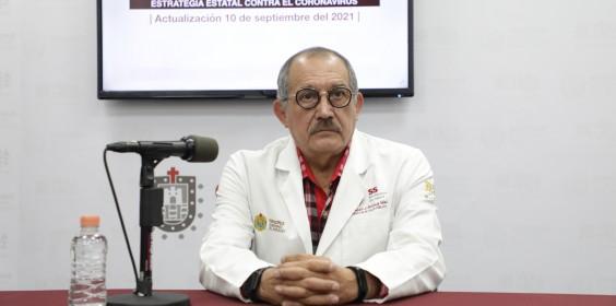 COMUNICADO   Estrategia Estatal contra el coronavirus 10/09/2021