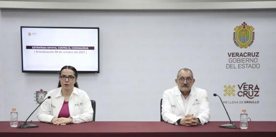 COMUNICADO | Estrategia Estatal contra el coronavirus 09/10/2021